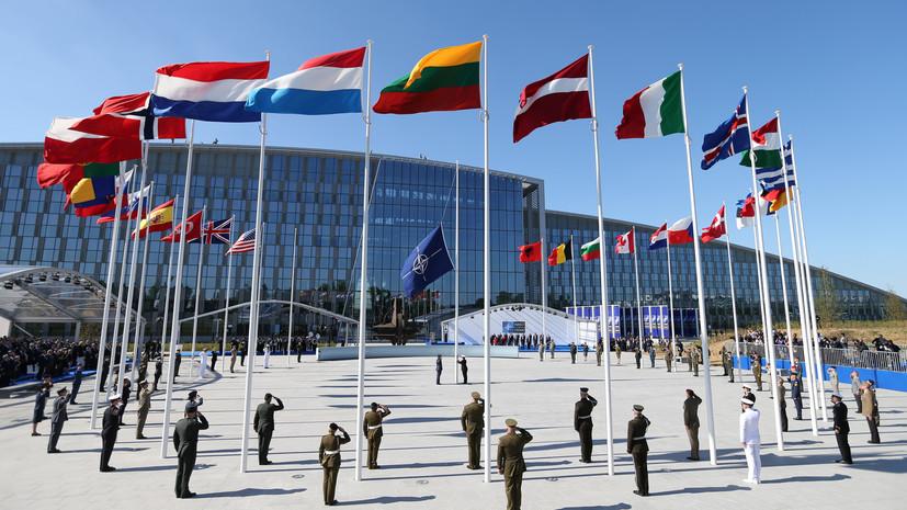 Столтенберг: страны НАТО намерены сохранить присутствие в Чёрном море