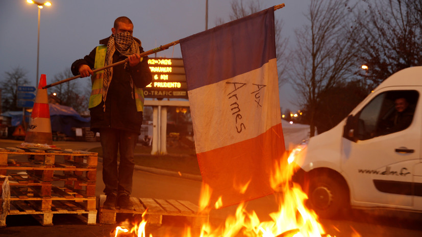 Столтенберг отрицает сходство «майдана» с протестами «жёлтых жилетов»