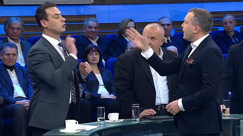 Попов объяснил инцидент во время съёмок «60 минут» нулевой толерантностью к хамству