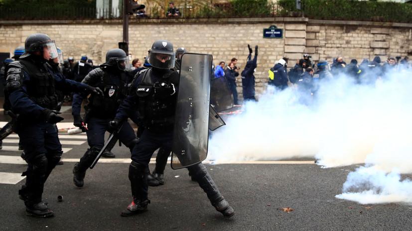 В МИД призвали Париж обеспечить безопасность журналистов во время протестов
