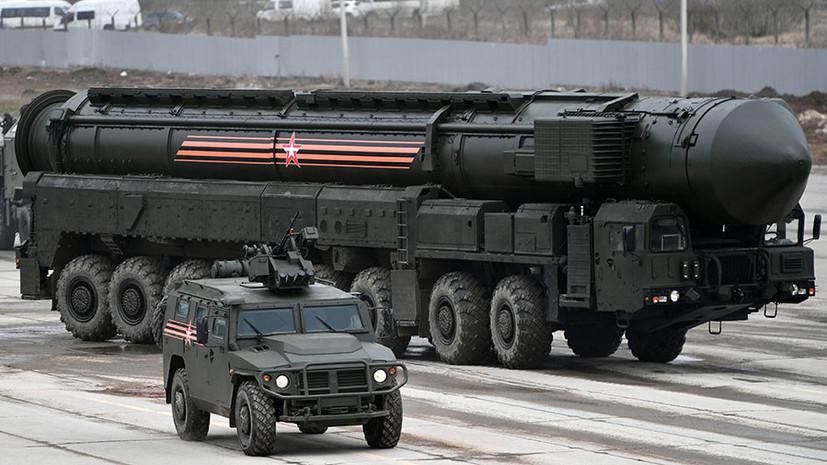 Генштаб ВС: Россия повышает возможности ядерных сил из-за ПРО США
