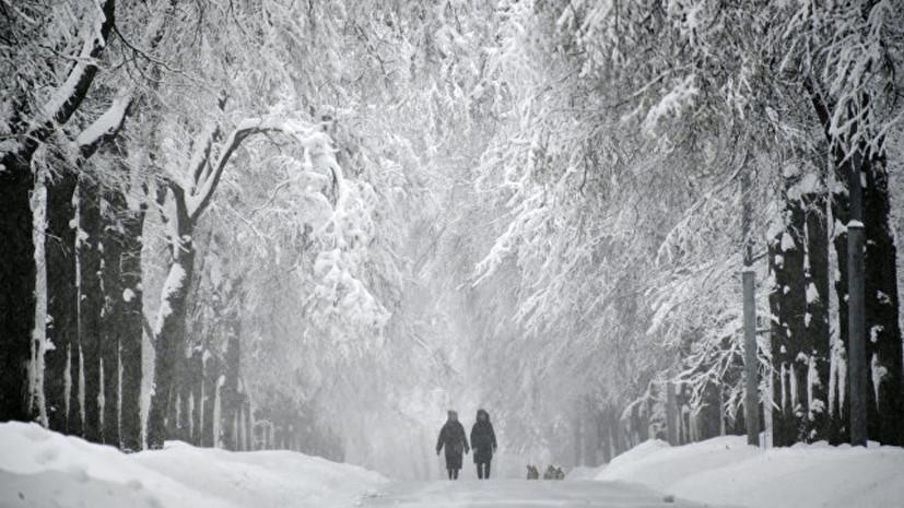Синоптики прогнозируют ледяной дождь в Москве