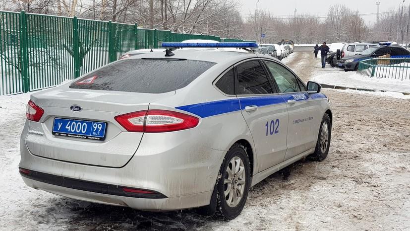Угрожавшего навредить себе школьника в Москве убедили сдаться