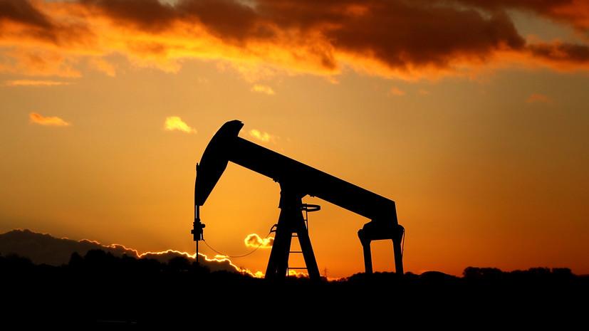 Мировые цены на нефть снизились почти на 3%