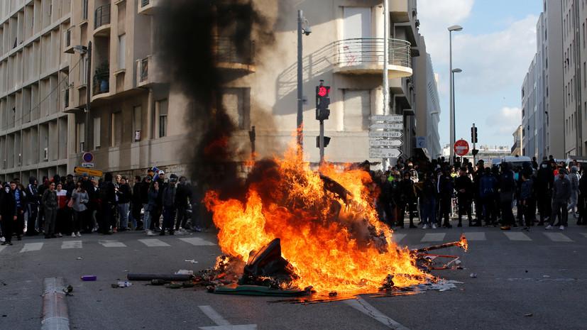 Футбольный матч между «Монако» и «Ниццей» перенесён из-за протестов во Франции