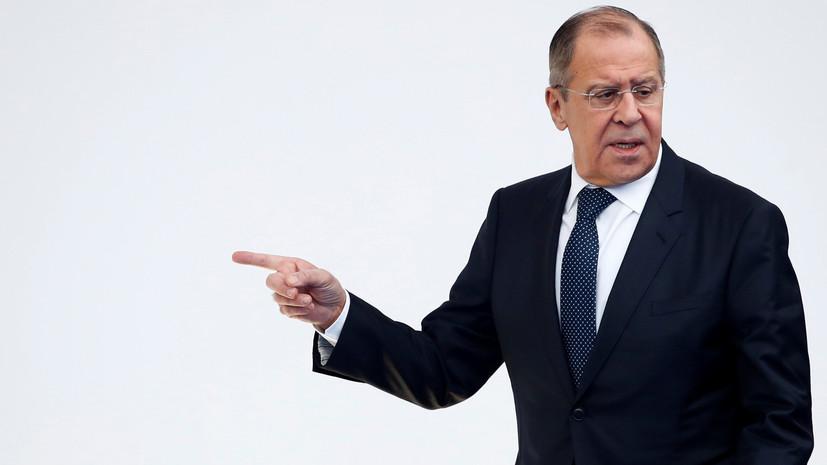 Лавров обсудил с генсеком ОБСЕ работу СММ на Украине
