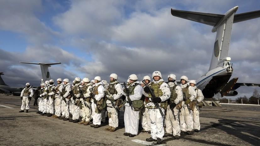 Порошенко сообщил о переброске украинских десантников к границе с Россией
