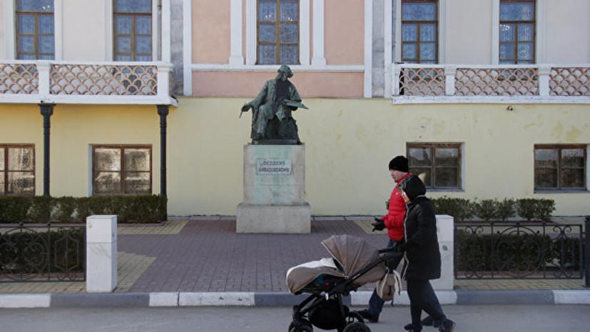 На реставрацию феодосийской галереи Айвазовского выделят 100 млн рублей