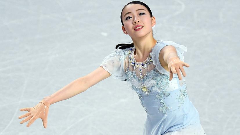 Японская фигуристка Кихира побила мировой рекорд Загитовой в короткой программе