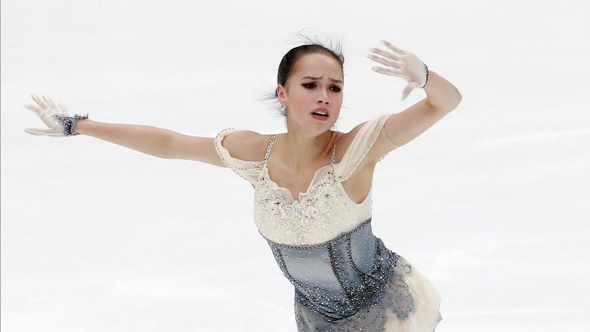 Загитова заняла второе место в короткой программе в финале Гран-при