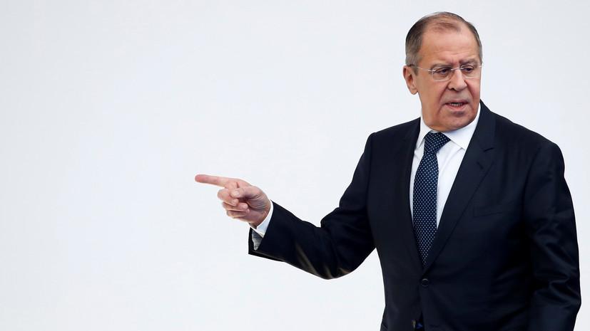 Лавров заявил о предвзятом отношении ОБСЕ к инициативам России