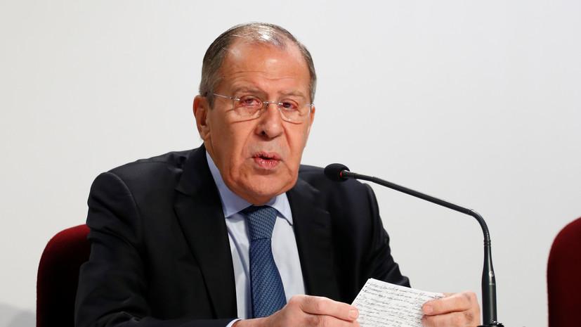 Лавров отметил рост националистических настроений на Украине