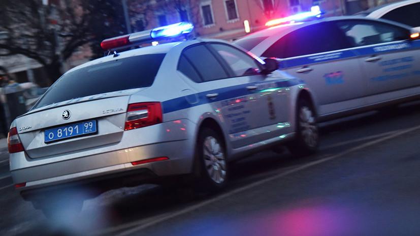 Сбивший пешеходов в центре Москвы водитель такси задержан