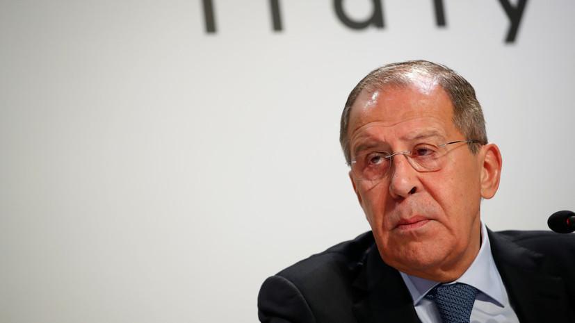 Лавров назвал цель провокации в Керченском проливе