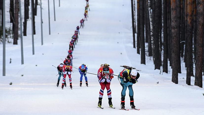 В Тюмени может состояться Гонка чемпионов по биатлону по окончании сезона
