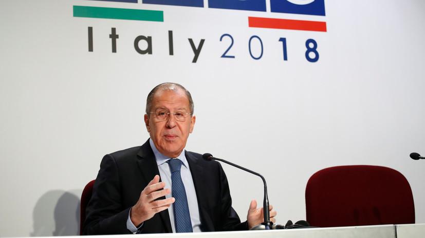 Лавров: Москва получила отказ на предложение обсудить ДРСМД на Совете Россия — НАТО