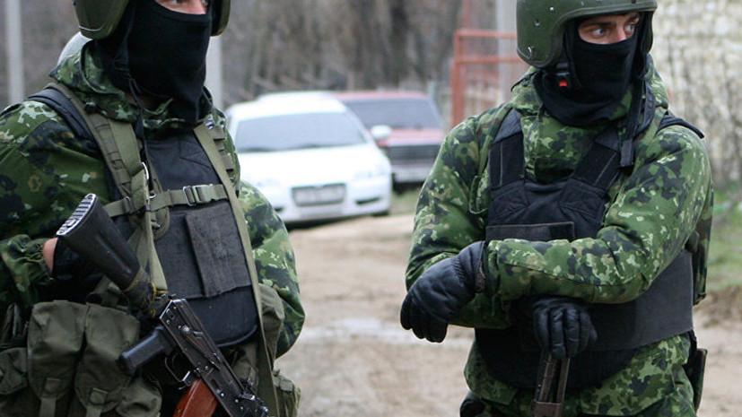 В Дагестане уничтожен причастный к терроризму боевик