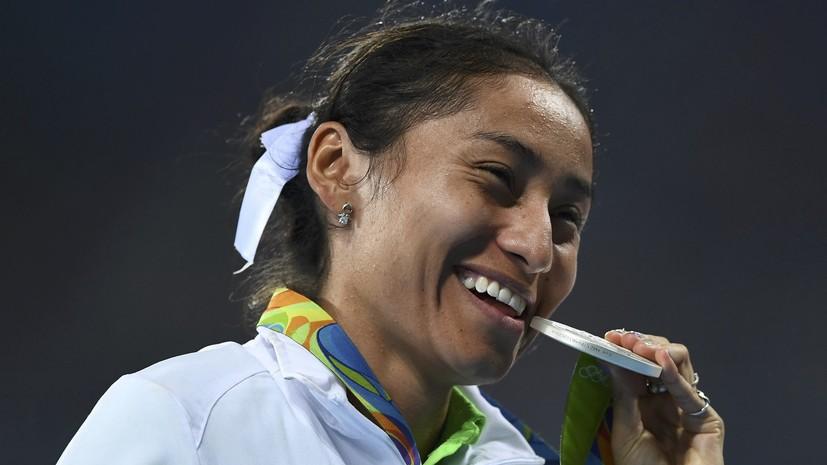 СМИ: Завоевавшая медаль Олимпиады-2016 легкоатлетка сдала положительный допинг-тест