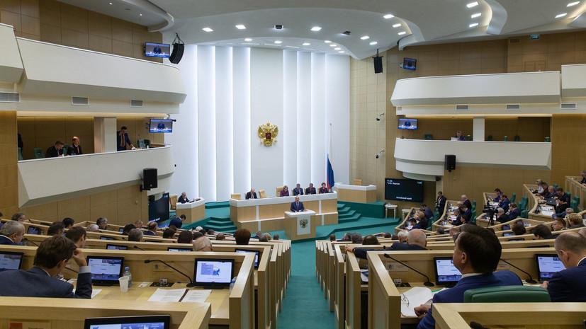 В Совфеде назвали провокацией призыв Порошенко закрыть порты для России