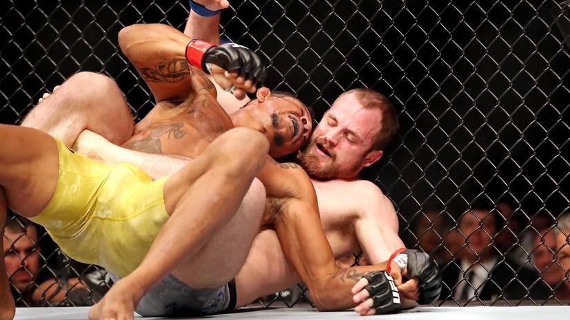 Американец Холлоуэй защитил титул чемпиона UFC в полулёгком весе, нокаутировав Ортегу
