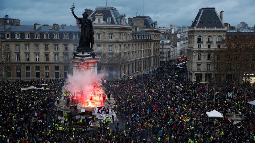 Во Франции протесты «жёлтых жилетов» назвали катастрофой для экономики страны