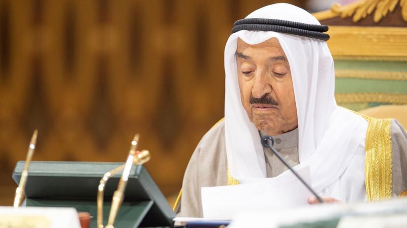 Эмир Кувейта назвал угрозой странам Персидского залива войну в Йемене