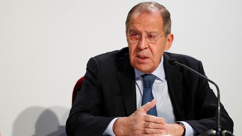 Лавров заявил, что Россия не намерена участвовать в торговой войне США и КНР