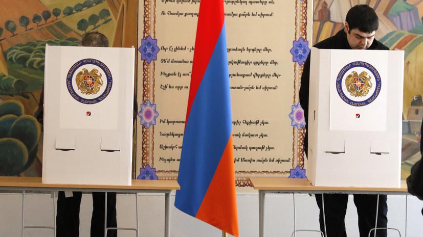 ЦИК: итоговая явка на выборы в Армении составила 48,63%