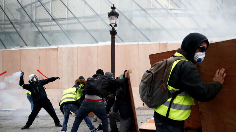 «Позвольте Франции жить своей жизнью»: в Париже отреагировали на слова Трампа о протестах «жёлтых жилетов»
