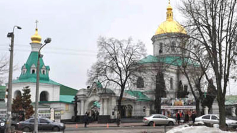В Киевской области неизвестные ограбили храм УПЦ МП