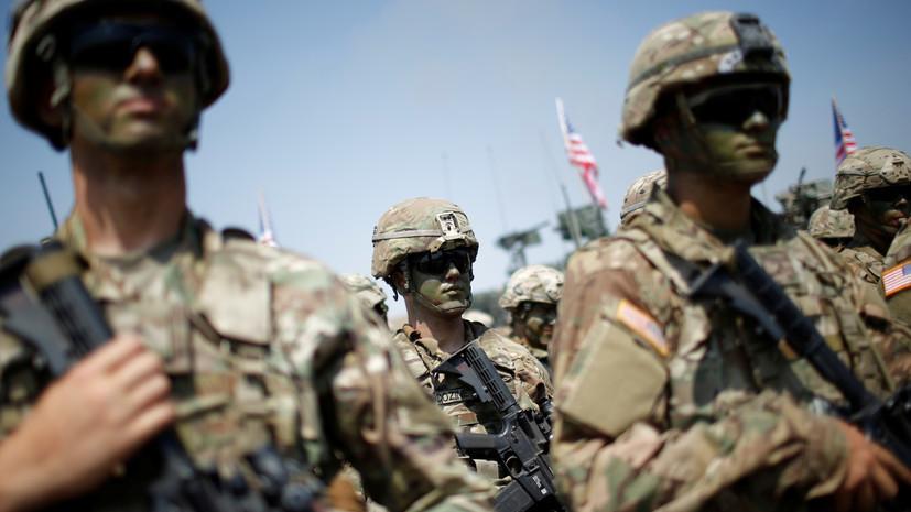 МИД: США несут ответственность за ситуацию в сирийском лагере «Эр-Рукбан»