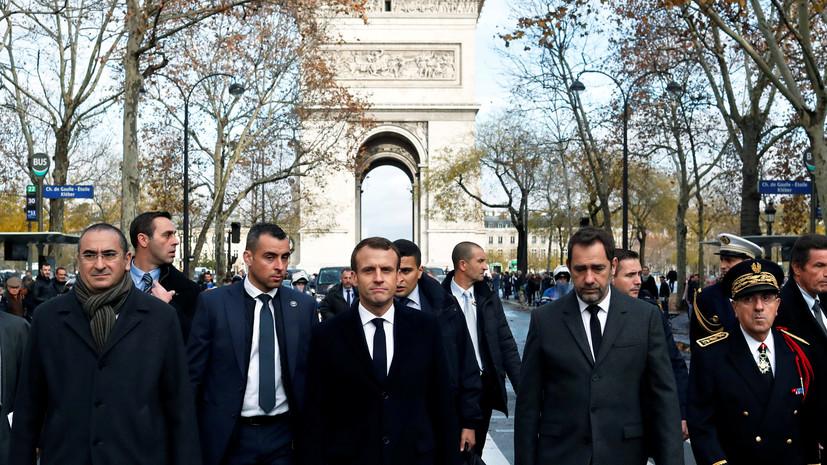 «Условный рождественский подарок»: Макрон объявил во Франции чрезвычайное экономическое положение