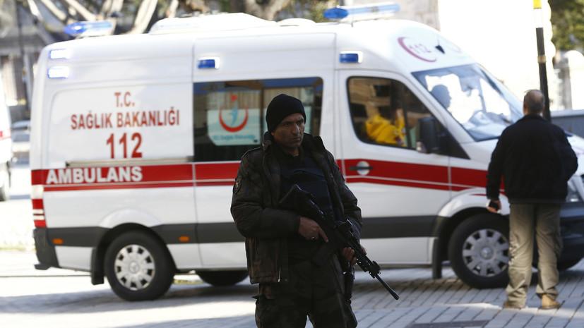 Главу полиции турецкой провинции убили в рабочем кабинете