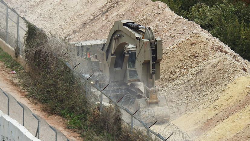 Израиль представил России детали операции на границе с Ливаном