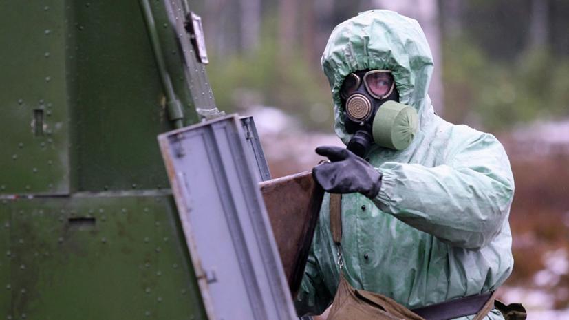 Военные ЦВО отработали в Оренбургской области действия при химатаке