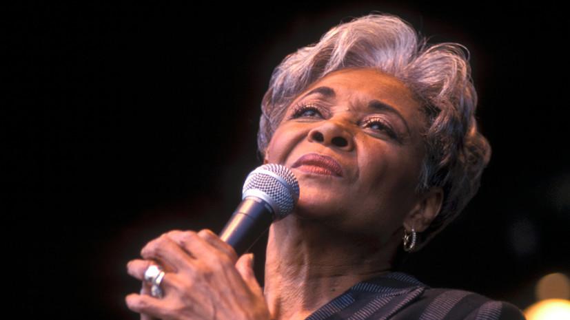 Скончалась лауреат трёх премий «Грэмми» эстрадная певица Нэнси Уилсон