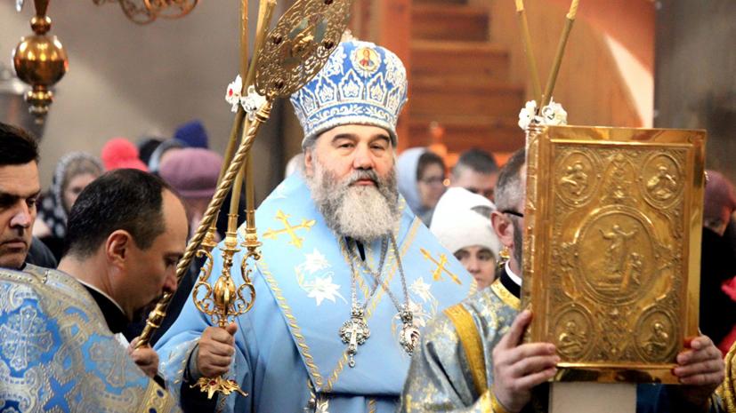 Сотрудники СБУ забрали митрополита Агапита «на разговор с Порошенко»