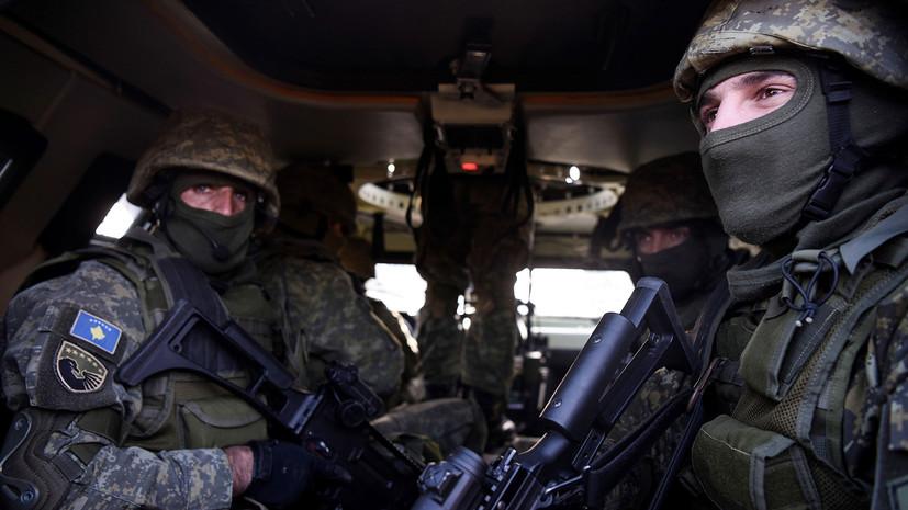 Вучич рассказал, кто стоит за решением о создании армии Косова