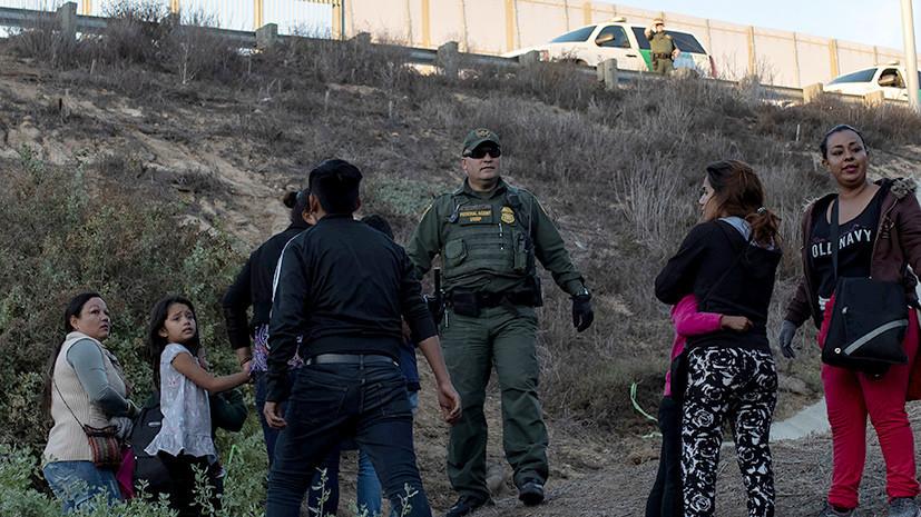 На границе США умерла задержанная сотрудниками таможенной службы семилетняя девочка