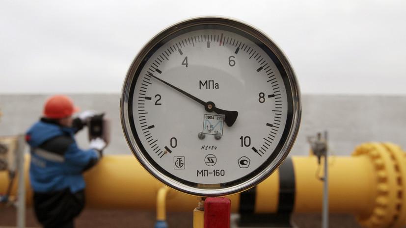 На Украине сократились запасы газа в подземных хранилищах до 49%