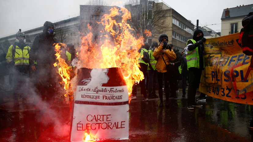 Carte Pollution Bordeaux.How Was The Fifth Wave Of Protests Yellow Vests In France
