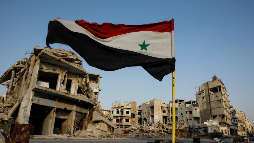 В Сирии при обстрелах со стороны боевиков погибли трое военных