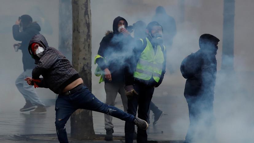 Русская служба BBC ищет «российский след» в протестах во Франции