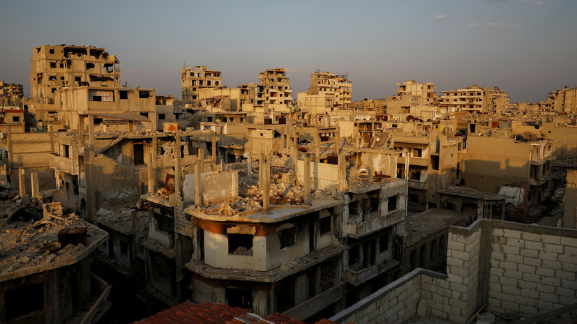 SANA: не менее 17 человек погибли при ударе коалиции США по Сирии