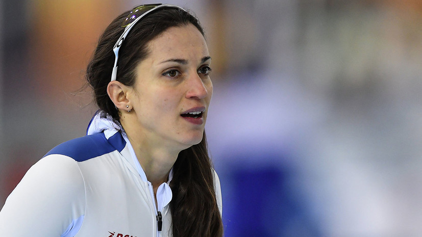 Конькобежка Шихова завоевала бронзу на дистанции 1000 метров на этапе КМ в Нидерландах