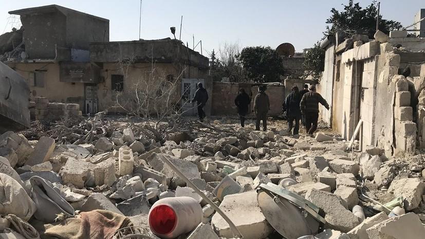 Источник: жертвами взрыва в сирийском Африне стали семь человек