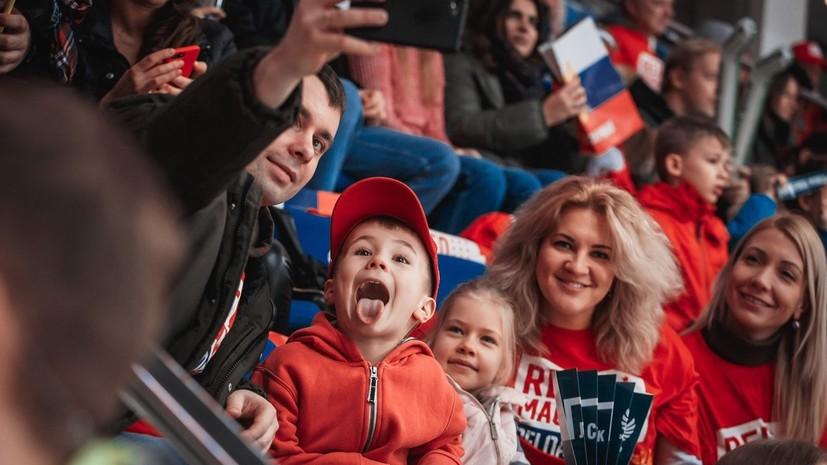 Матч Кубка Первого канала Россия — Финляндия посетили более 71 тысячи зрителей