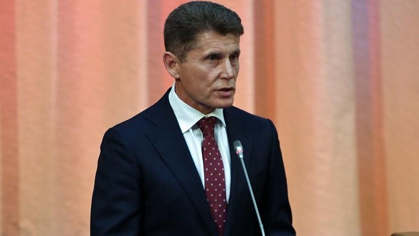 Кожемяко лидирует на выборах главы Приморья после подсчёта 99,68% голосов