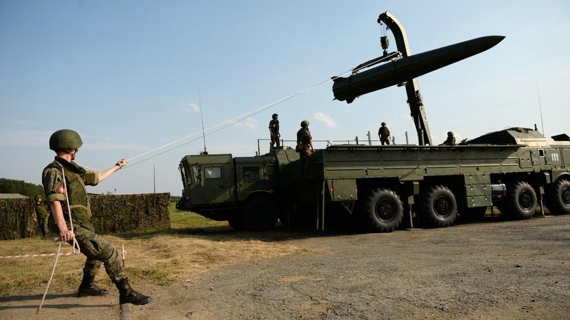 Борисов заявил об эффективном использовании «Искандеров» в Сирии