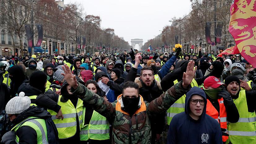 «Придумывают фейки на весь мир»: в МИД призвали дать оценку поискам BBC «российского следа» в ходе протестов во Франции